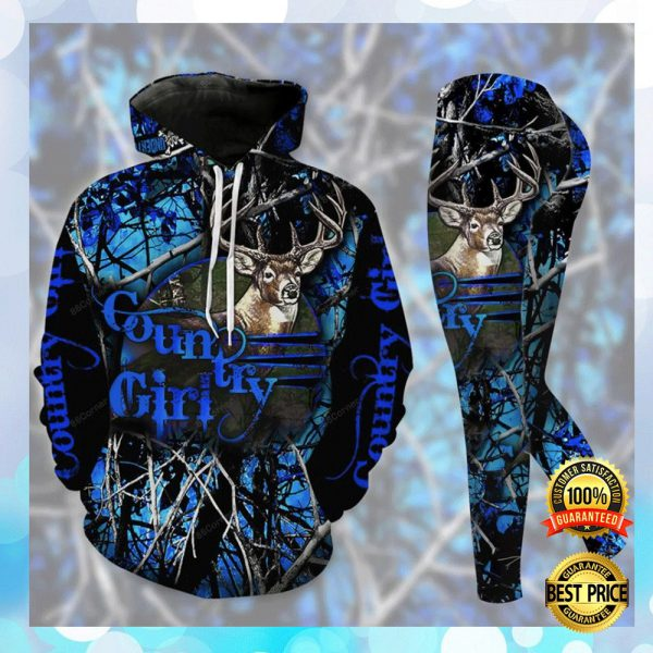 Country Girl 3d Hoodie And Legging 2