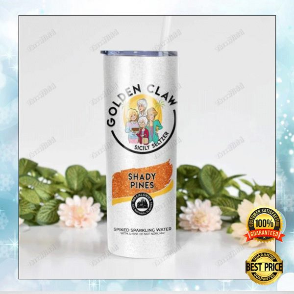 Golden Claw Sicily Seltzer Skinny Tumbler 3
