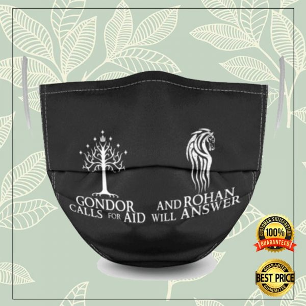 Gondor Call For Aid And Rohan Will Answer Face Mask 3