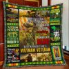 I served i sacrificed i regret nothing i'm not a hero but i'm proud to be a vietnam veteran quilt