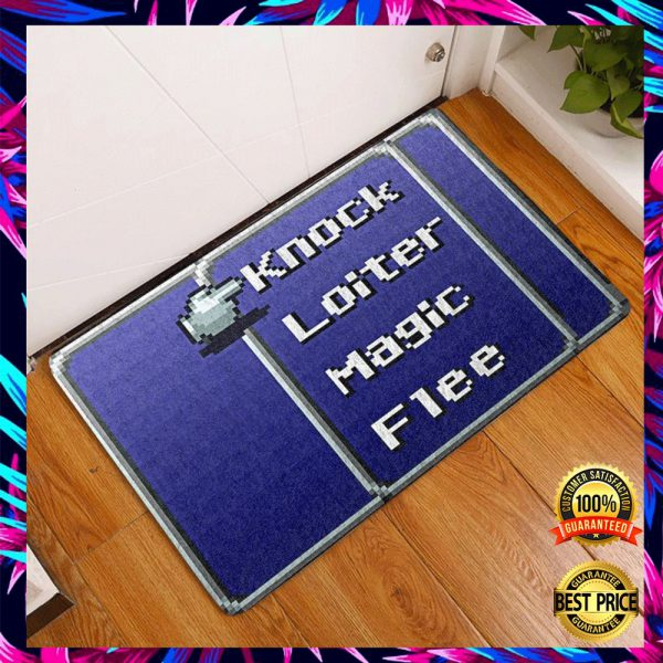 Knock Loiter Magi Flee Doormat 3