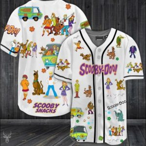 Scooby Doo baseball shirt