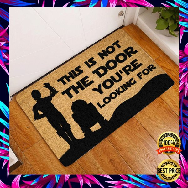 Star Wars This Is Not The Door You're Looking For Doormat 3
