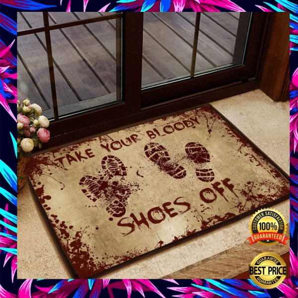 Take Your Bloody Shoes Off Doormat 3