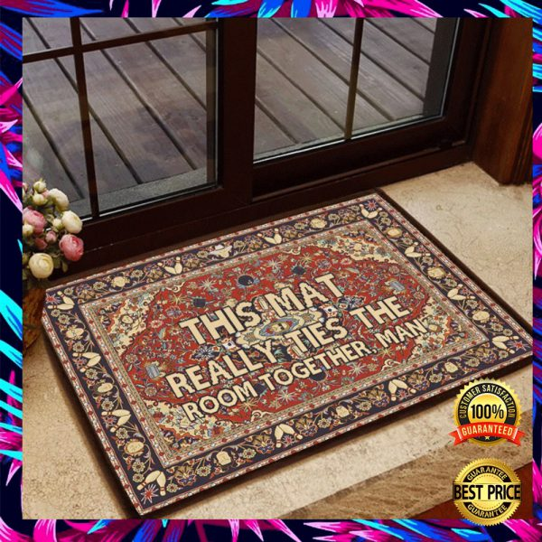 This Mat Really Ties The Room Together Man Doormat 3