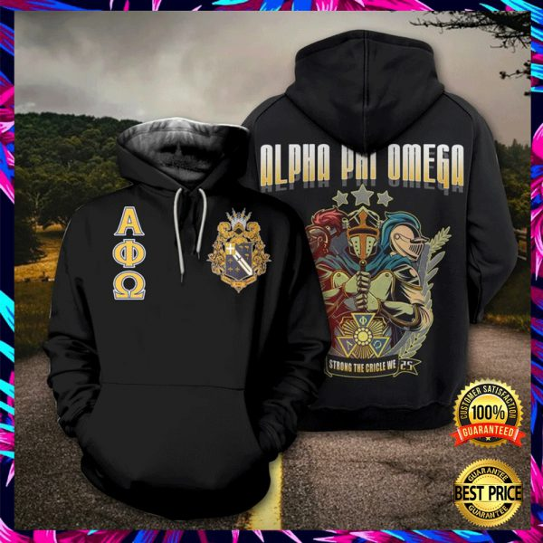 Alpha Phi Omega All Over Printed 3d Hoodie 3