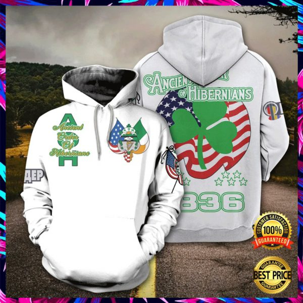 Ancient Order Of Hibernians All Over Printed 3d Hoodie 3