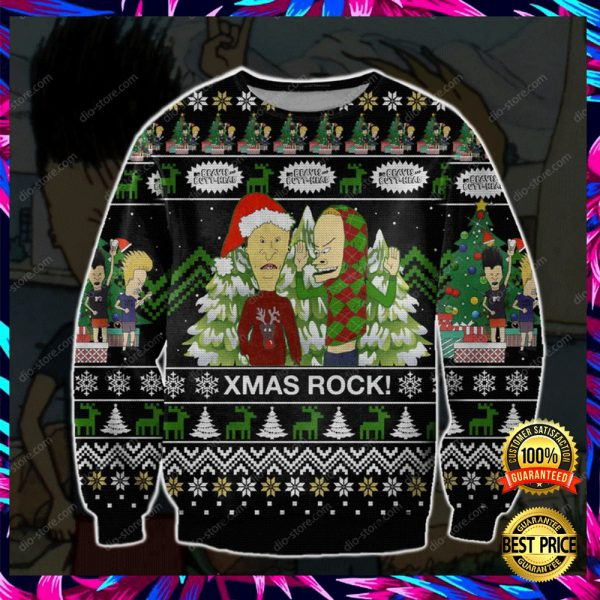 Beavis And Butt-Head 3d Ugly Sweater 3