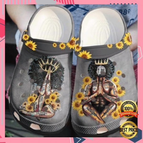 Black King And Queen Crocs Crocband 3