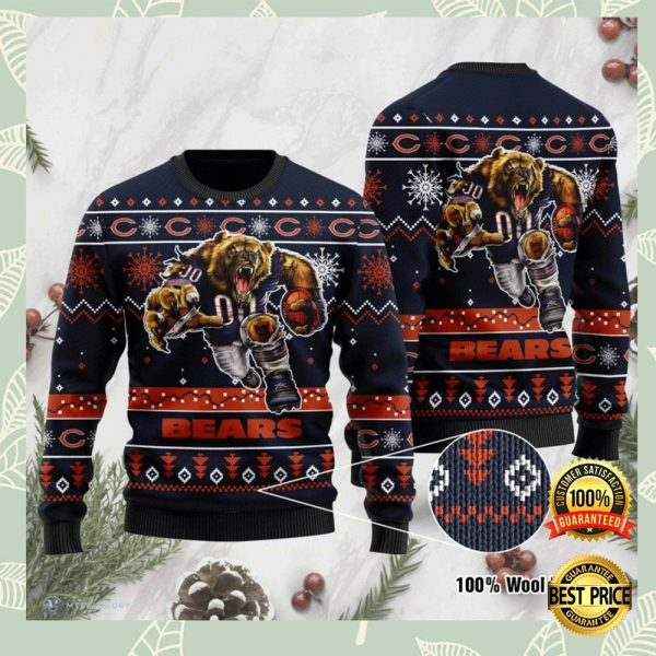 Chicago Bears Ugly Sweater 3