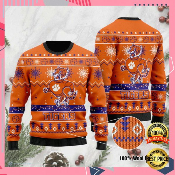 Clemson Tigers Football Ugly Sweater 3