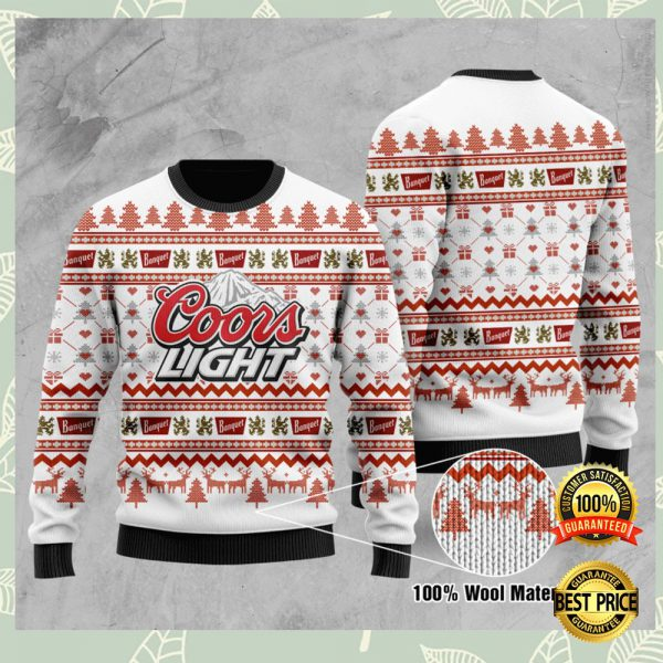 Coors Light Ugly Sweater 3