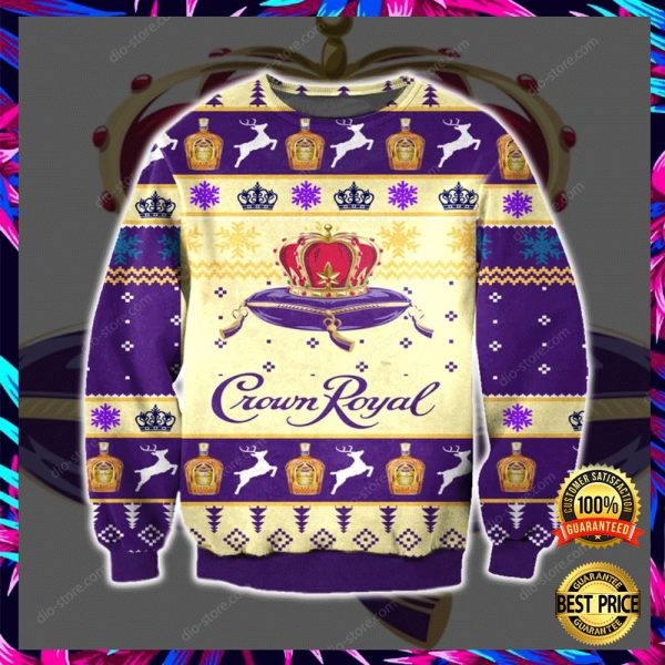 Crown Royal 3d Ugly Sweater 3