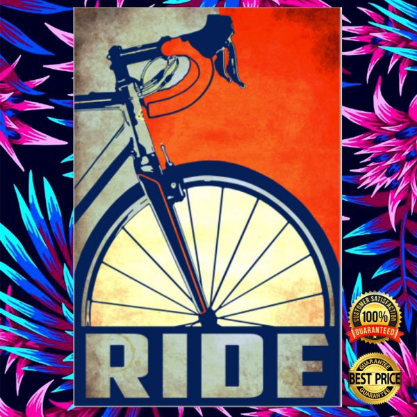 Cycling Ride Poster 3