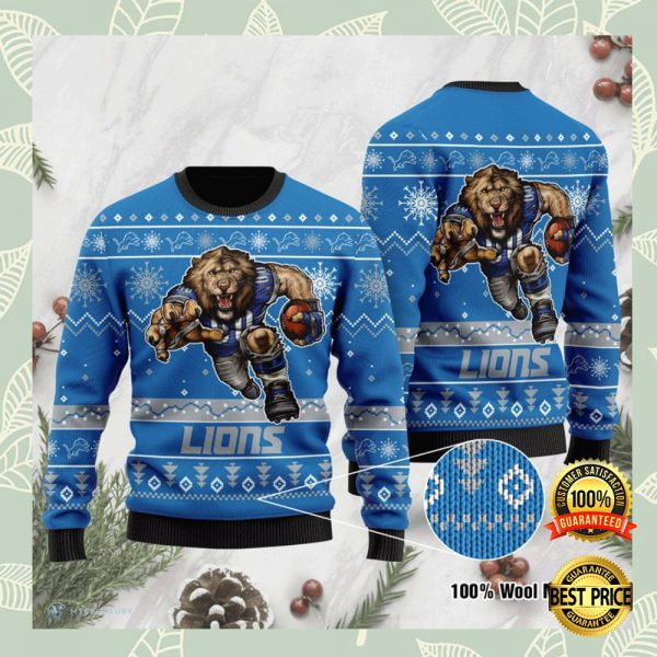 Detroit Lions Ugly Sweater 3
