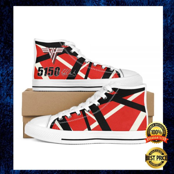 Eddie Van Halen 5150 Signature High Top Shoes 3