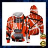 Lion Jesus Is My God My King My Lord All Over Printed 3d Hoodie 2