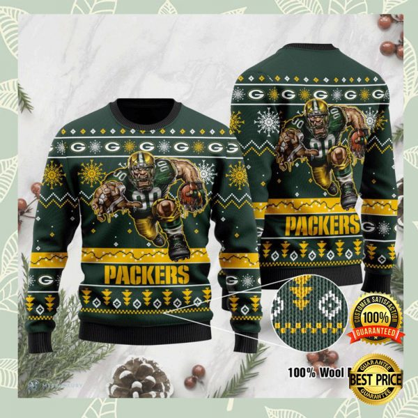 Green Bay Packers Ugly Sweater 3