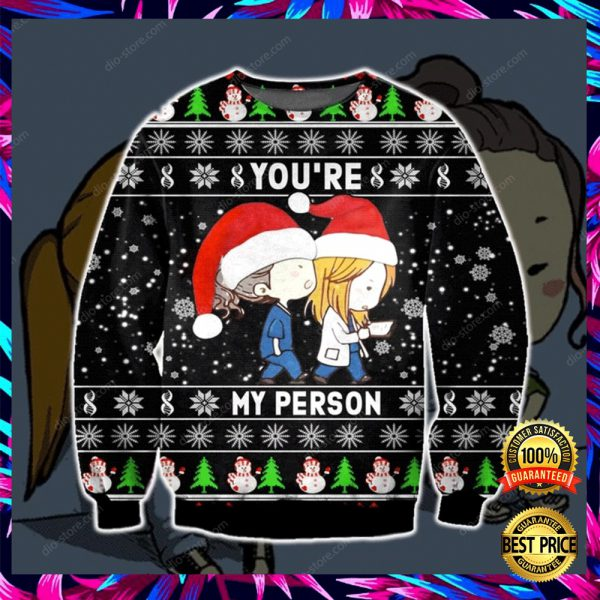 Greys Anatomy You're My Person 3d Ugly Sweater 3