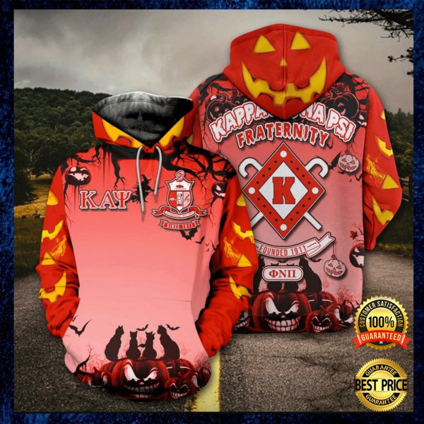 Happy Halloween Kappa Alpha Psi Fraternity All Over Printed 3d Hoodie 3