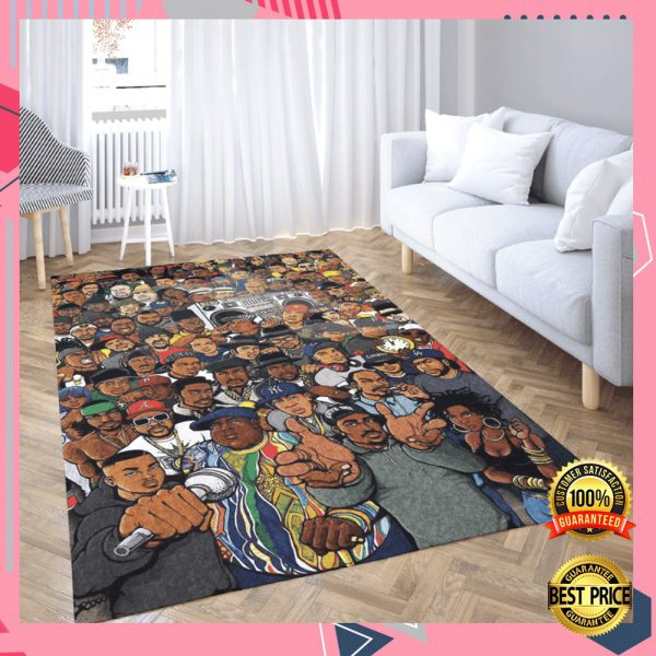 Hip Hop Legends Rug 2