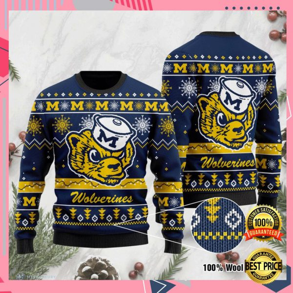 Michigan Wolverines Football Ugly Sweater 3