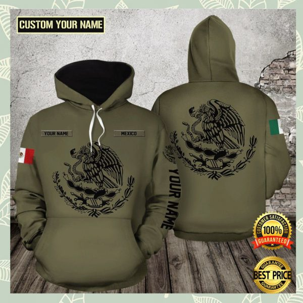Personalized Mexico All Over Printed 3d Hoodie 3