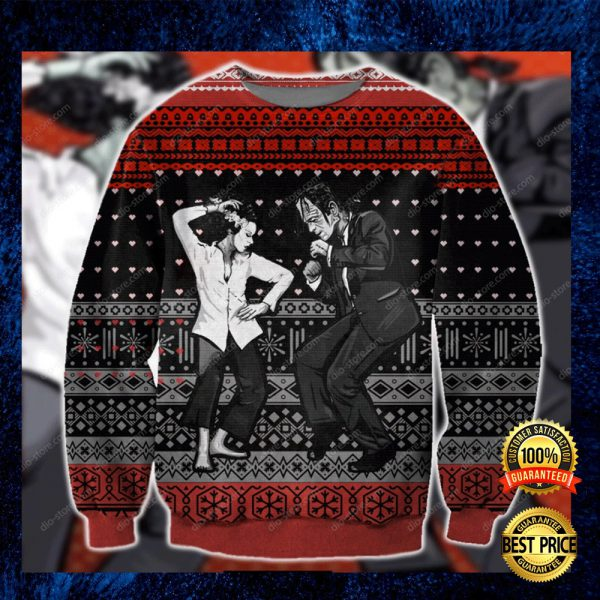 Pulp Frankenstein Ugly Sweater 3