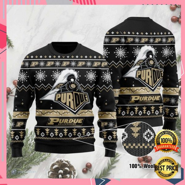 Purdue Boilermakers Football Ugly Sweater 3