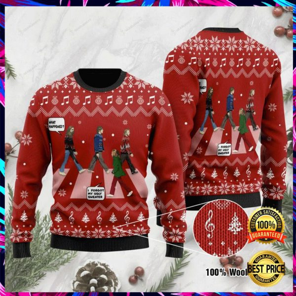 The Beatles Abbey Road Ugly Sweater 3