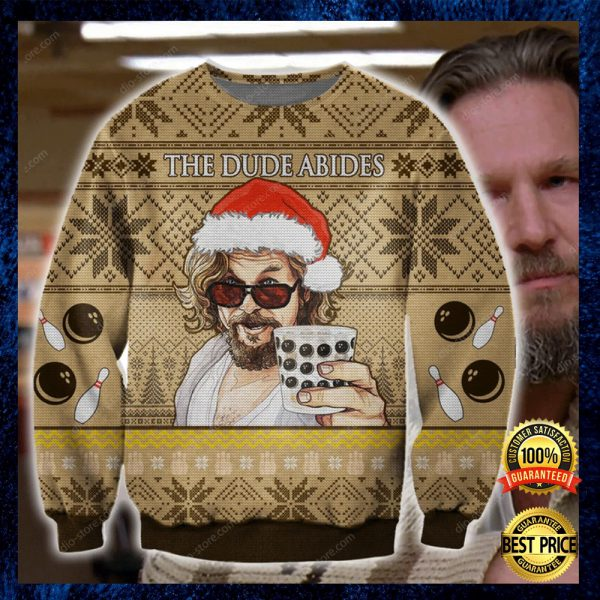 The Dude Abides Ugly Sweater 3