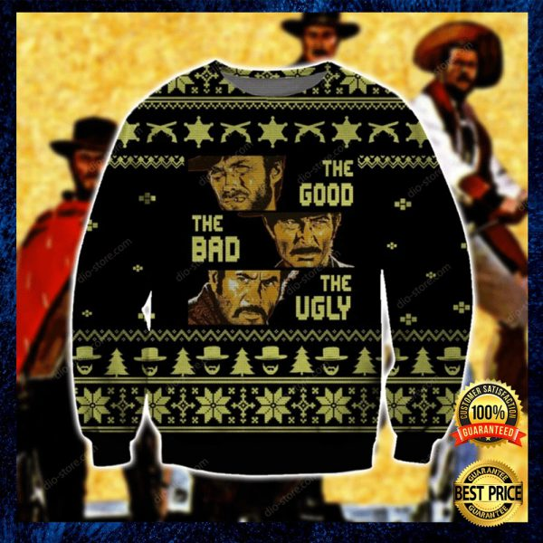 The Good The Bad The Ugly Ugly Sweater 3