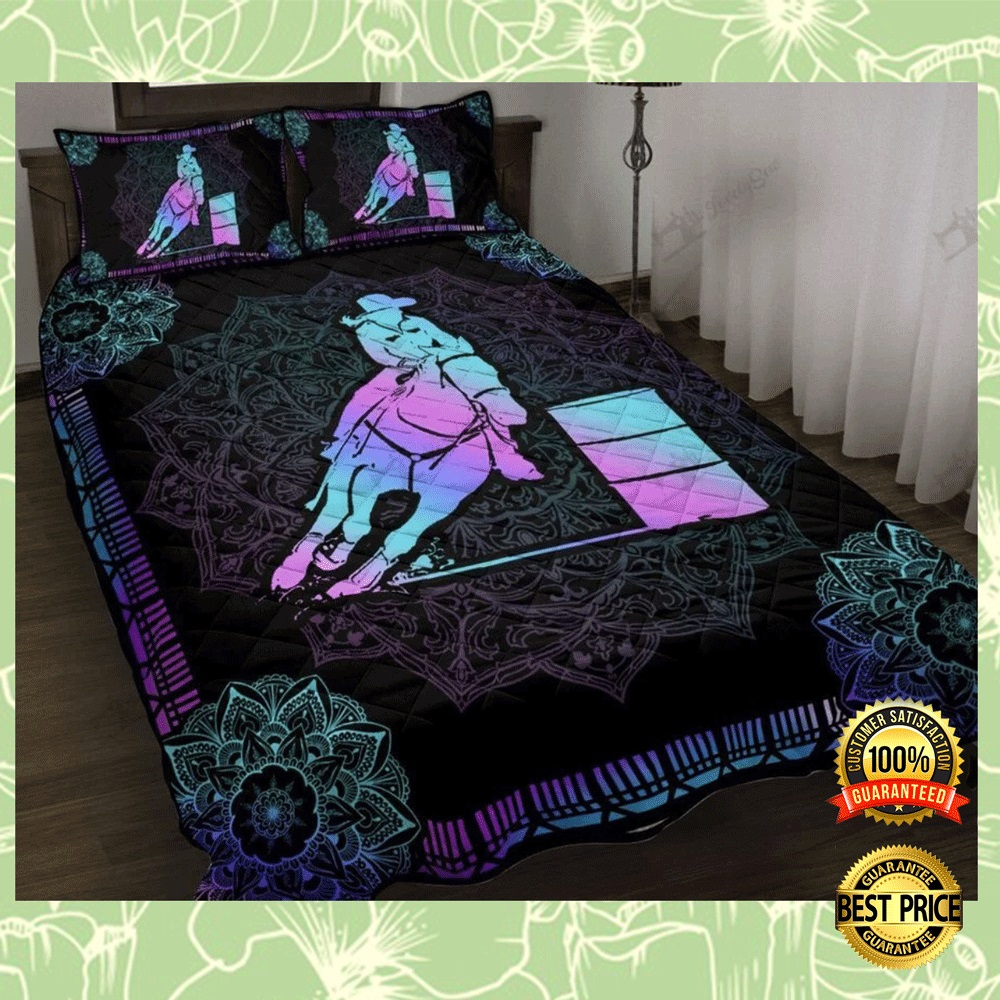 Barrel Racing Mandala Bedding Set 4