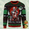Boba Fett And Baby Yoda Jingle All The Way Ugly Sweater 2