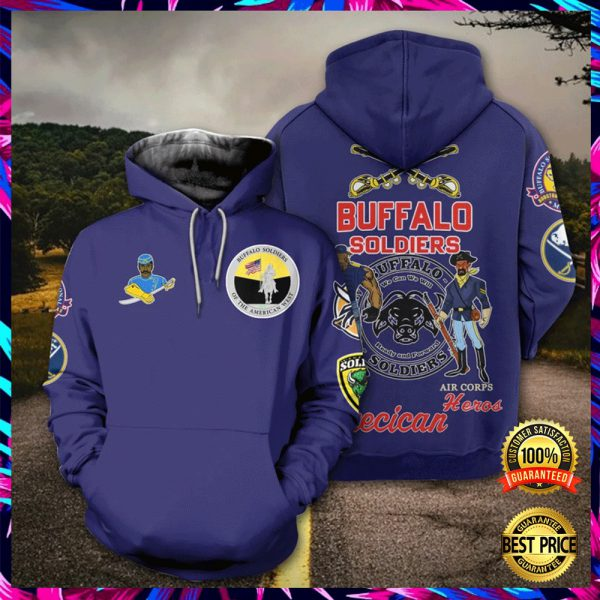 Buffalo Soldier All Over Printed 3d Hoodie 3