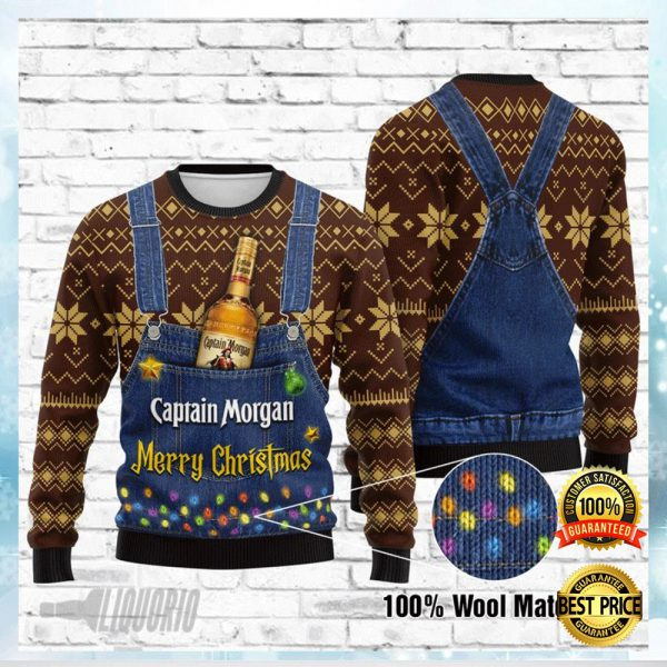 CAPTAIN MORGAN MERRY CHRISTMAS UGLY SWEATER 3