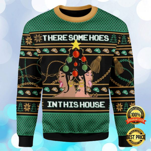 Cardi B There Some Hoes In This House Ugly Sweater 3