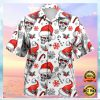 CHRISTMAS SKULL HAWAIIAN SHIRT 1