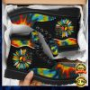 Colorful Hippie Sunflower Timberland Boots 1