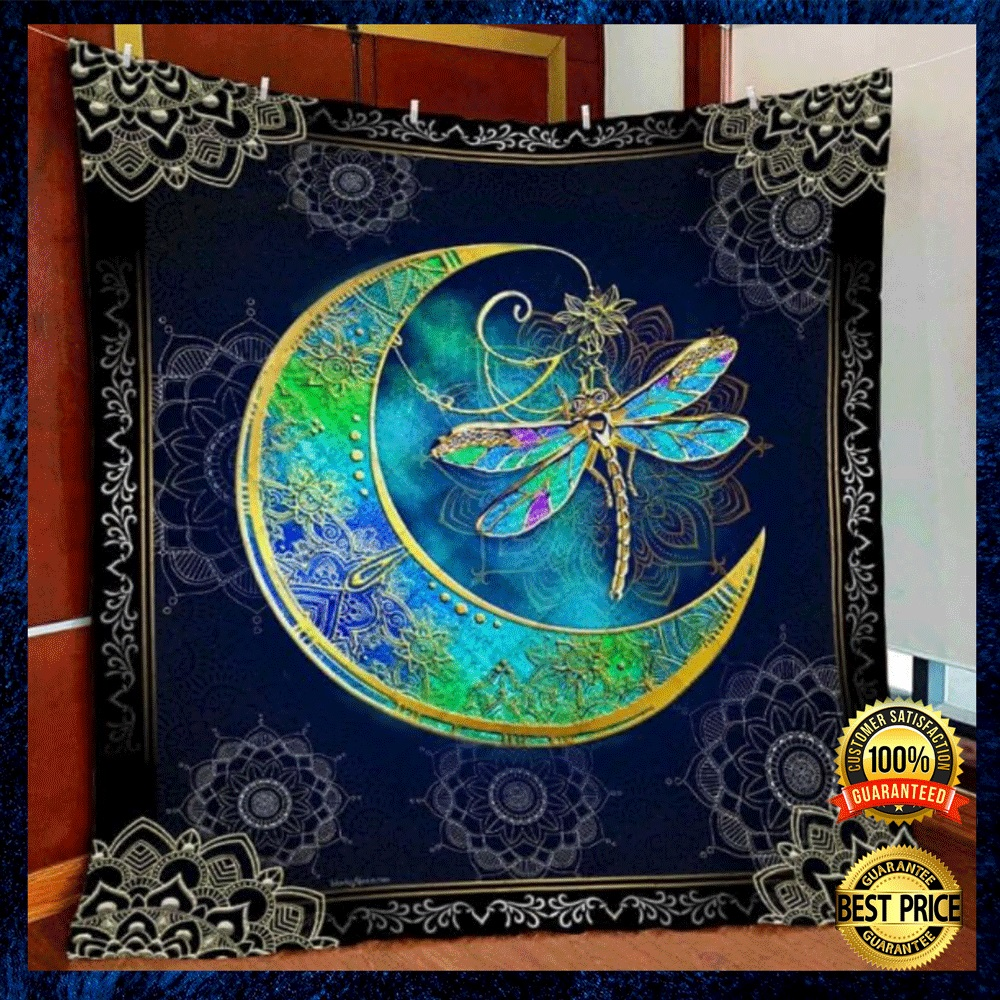 DRAGON AND MOON QUILT 4