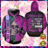 Floral Skull February Girl I'm Not Getting Old I Am Just Becoming A Classic All Over Printed 3d Hoodie 1