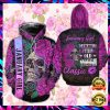 Floral Skull January Girl I'm Not Getting Old I Am Just Becoming A Classic All Over Printed 3d Hoodie 1