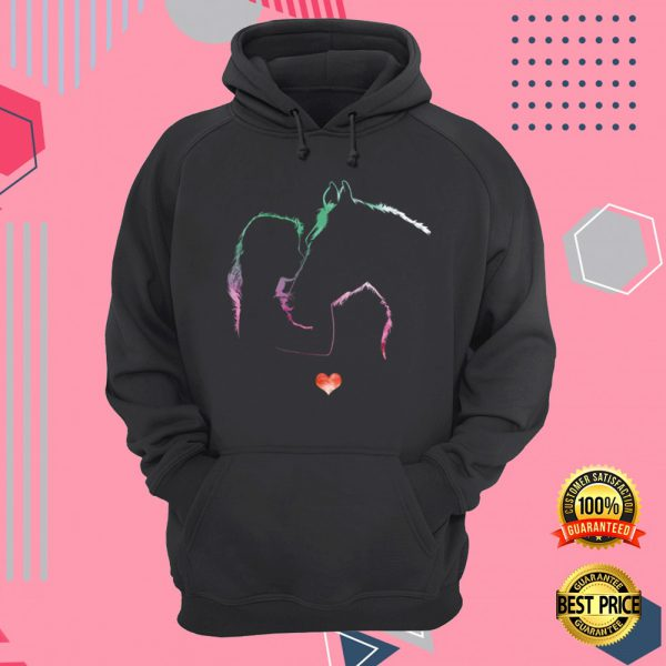 Girl And Horse Never Walk Alone All Over Printed 3d Hoodie 3