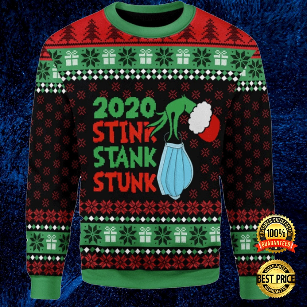 Grinch 2020 Stink Stank Stunk Ugly Sweater 4
