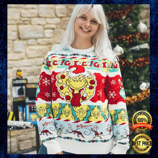 Grinch Dr Seuss Ugly Sweater 3