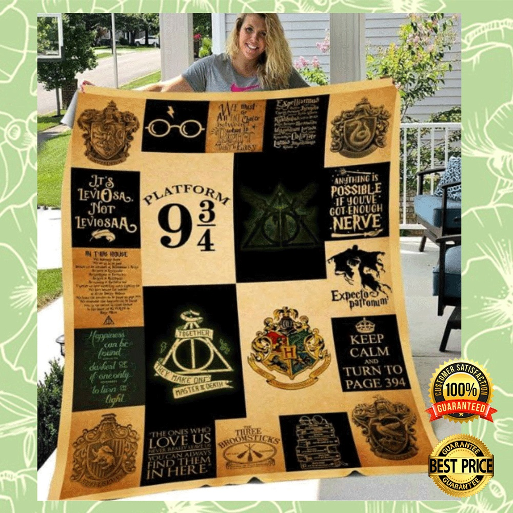 HARRY POTTER 3D QUILT 4