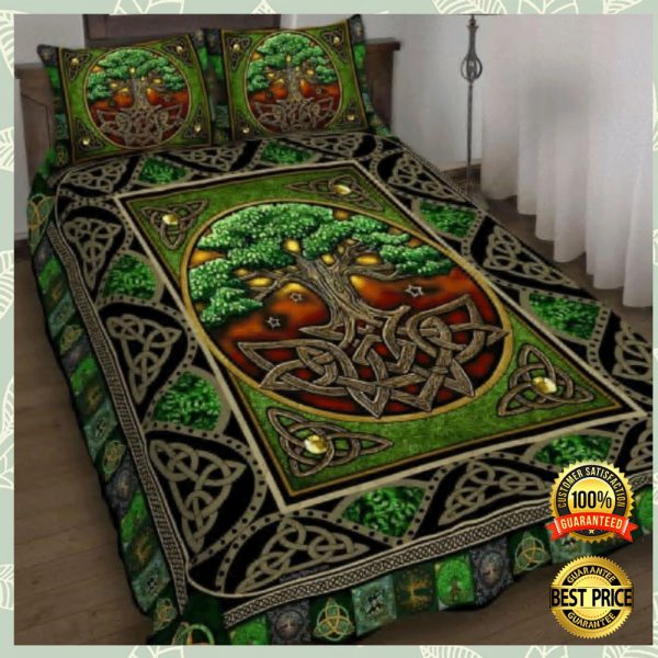 Irish Tree Of Life Bedding Set 3