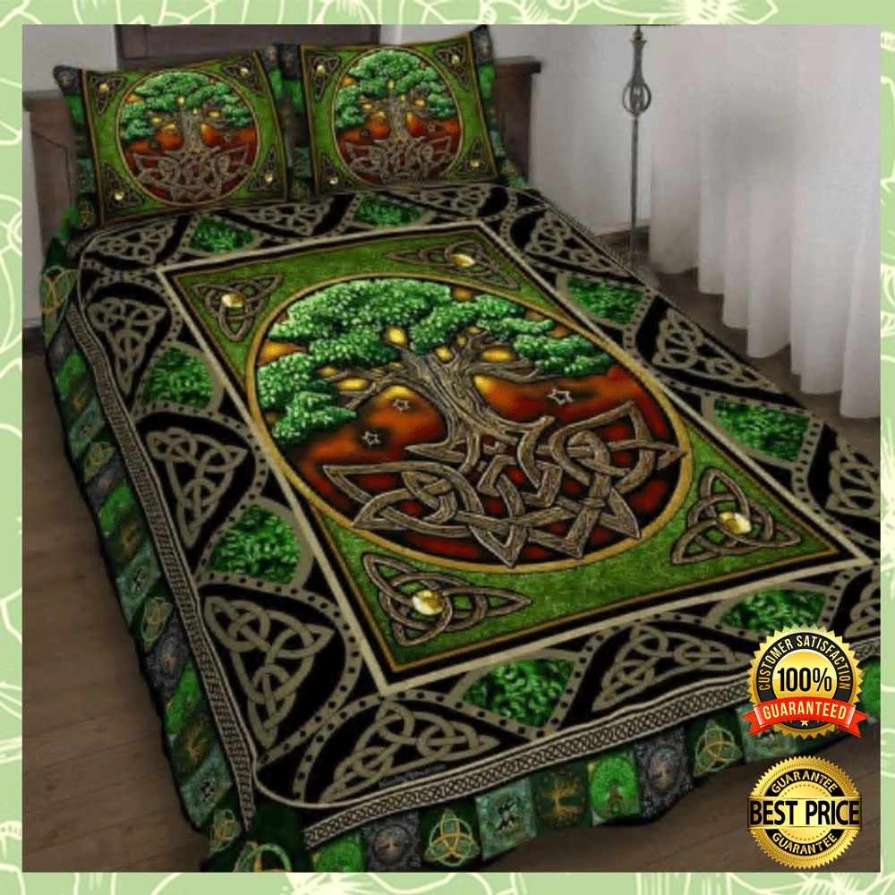 Irish Tree Of Life Bedding Set 4
