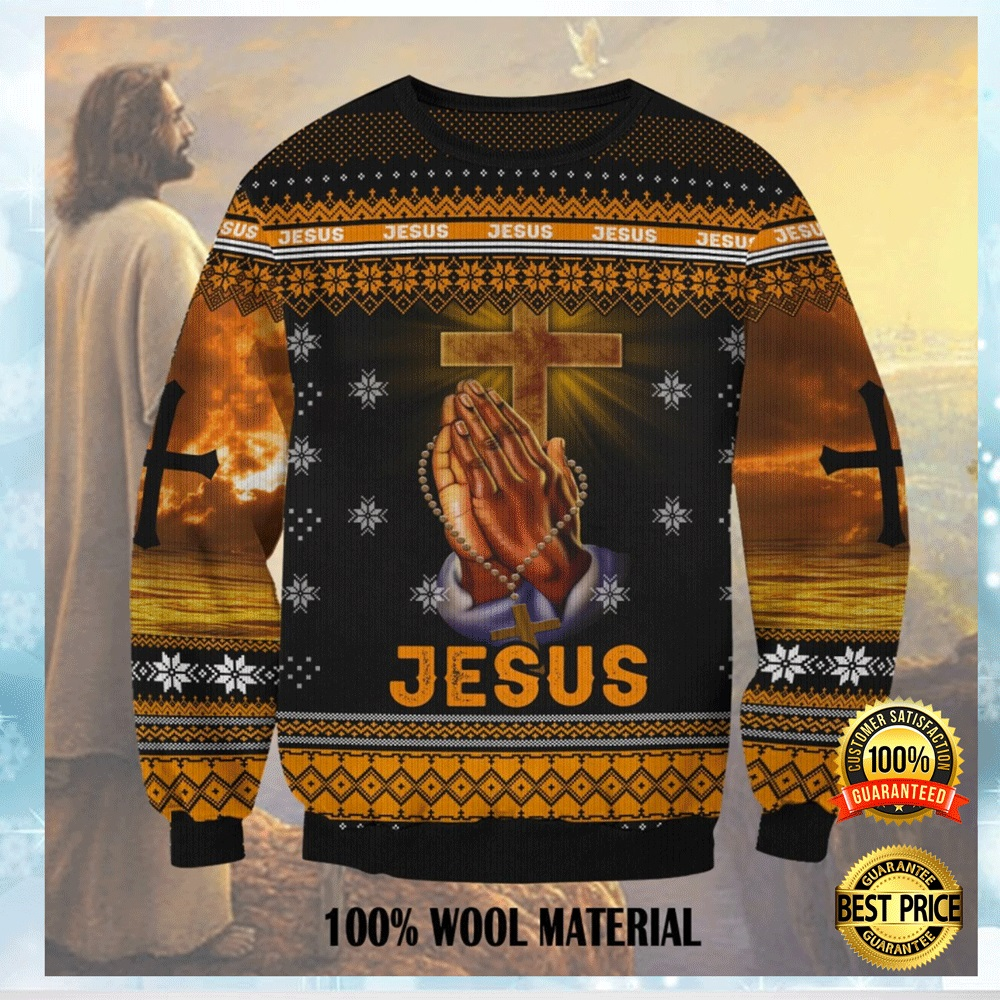JESUS 3D UGLY SWEATER 4