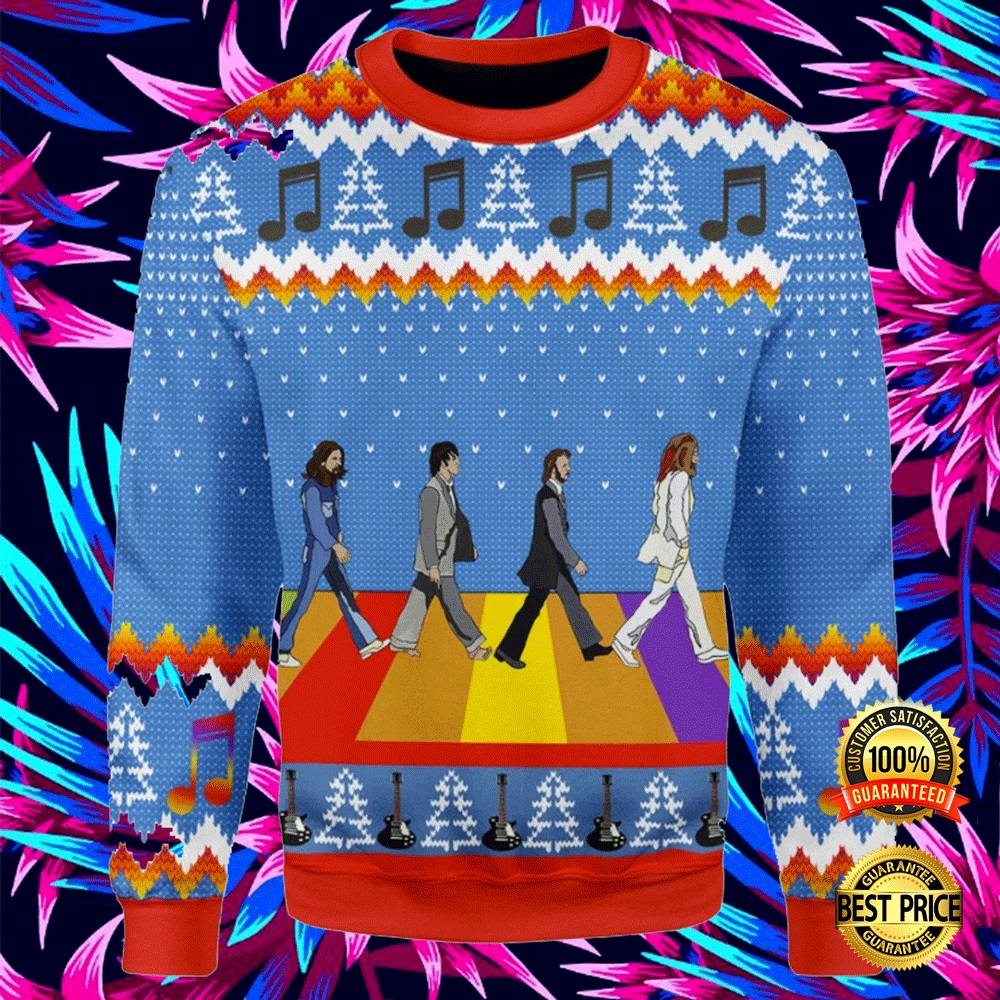 Lgbt The Beatles Abbey Road Ugly Sweater 4